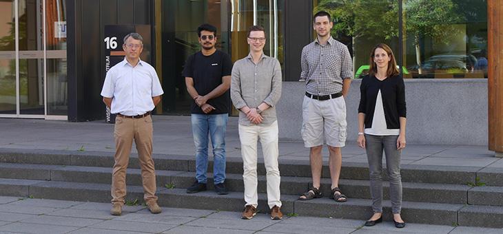 Gruppenfoto des aktuellen Personals des Fachgebiets Nachhaltige Betriebswirtschaft